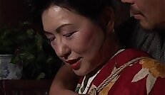 Asian bitch has a rope session to endure