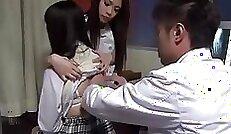 Captivating girls Philippine student gets revenge on the doctor