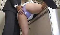 bewitching is her sexy body and shiny panties
