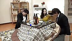 true Japanese wife plays with herself