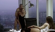 TROPHY WIFE REMY LACROIX ANALLY PUNISHED IN FRONT OF HER SECRETARY Featuring Remy Lacroix Steven St. Croix