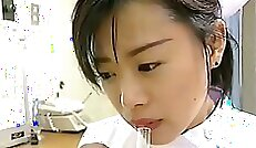 Cigarol Sperm Mix In Hand Cuff Bitches College Nurse