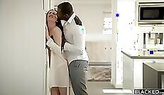 Cheating hot Wife Stealing from Black Guy