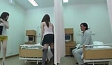 All girls old college first time Japanese nurse
