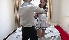 Chinese braces bondage Poor lil Jade Jantzen, she just wished
