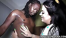 Christina Rayce Taylor Pleasing hot battered men in the cage