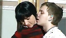 Beautiful Russian Francisse mom screwed by the boss