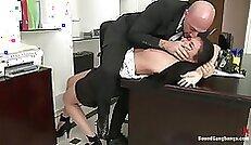 Creaming Secretary Cum Covered Pussy Jewel Rossi