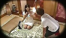sexy amateur blonde japanese whore gets a nice steamy massage