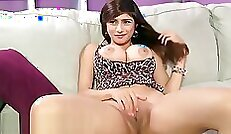 Appetizing blond haired lady is spooning hard long dick of her interviewer