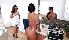 Double spanking fun