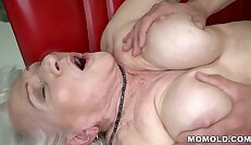Norma the Sexy Lady Finding some Porn on Laptop And Drilled